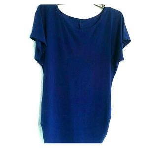 Tops - *Royal Blue Shirt*